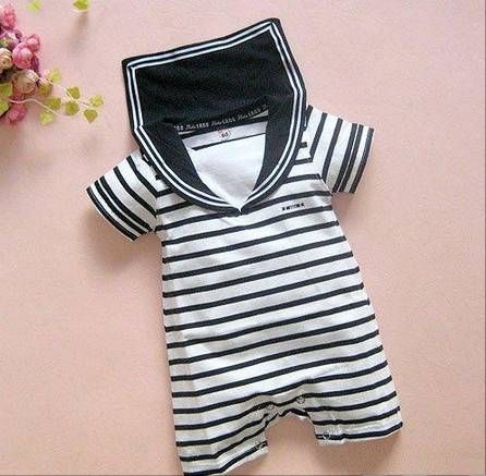 BABY sailor romper
