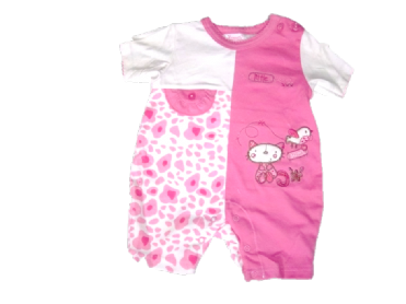 MY LITTLE LOVE KITTY ROMPER.